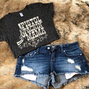 """Small """"Pistol Packin' Mama"""" T-shirt"""
